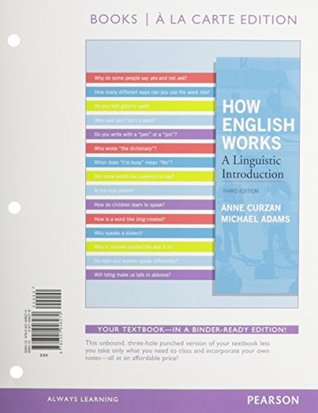 How english works a linguistic introduction by anne curzan fandeluxe Image collections