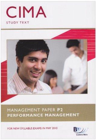 CIMA - P2: Performance Management: Study Text