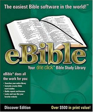 Ebible Discover Edition: The One-Click Bible Study Library