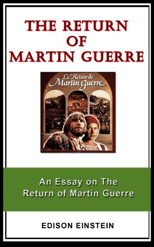 An Essay on The Return of Martin Guerre