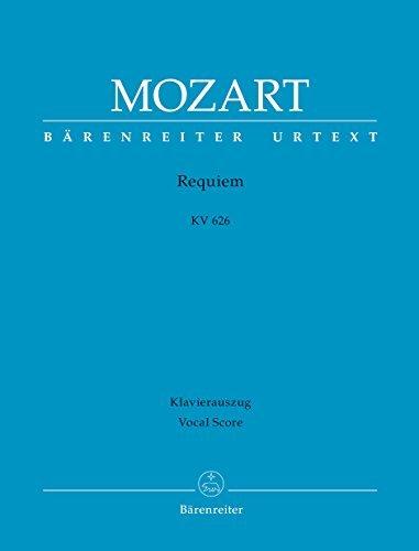Mozart Requiem KV 626 - Vocal Score