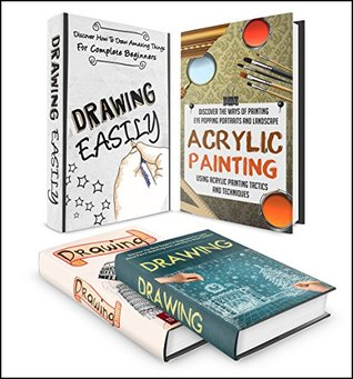 DRAWING: 4 IN 1 BOX SET Discover How To Become A Expert At Drawing Box Set #12 (drawing books, drawing for beginners, art for the absolute beginner, drawing ideas, acrylic painting tutorial)
