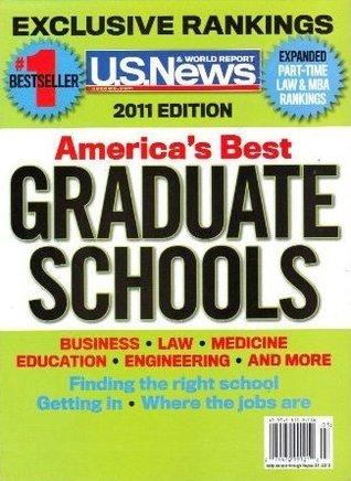 U.S. News 2011 America's Best Graduate Schools