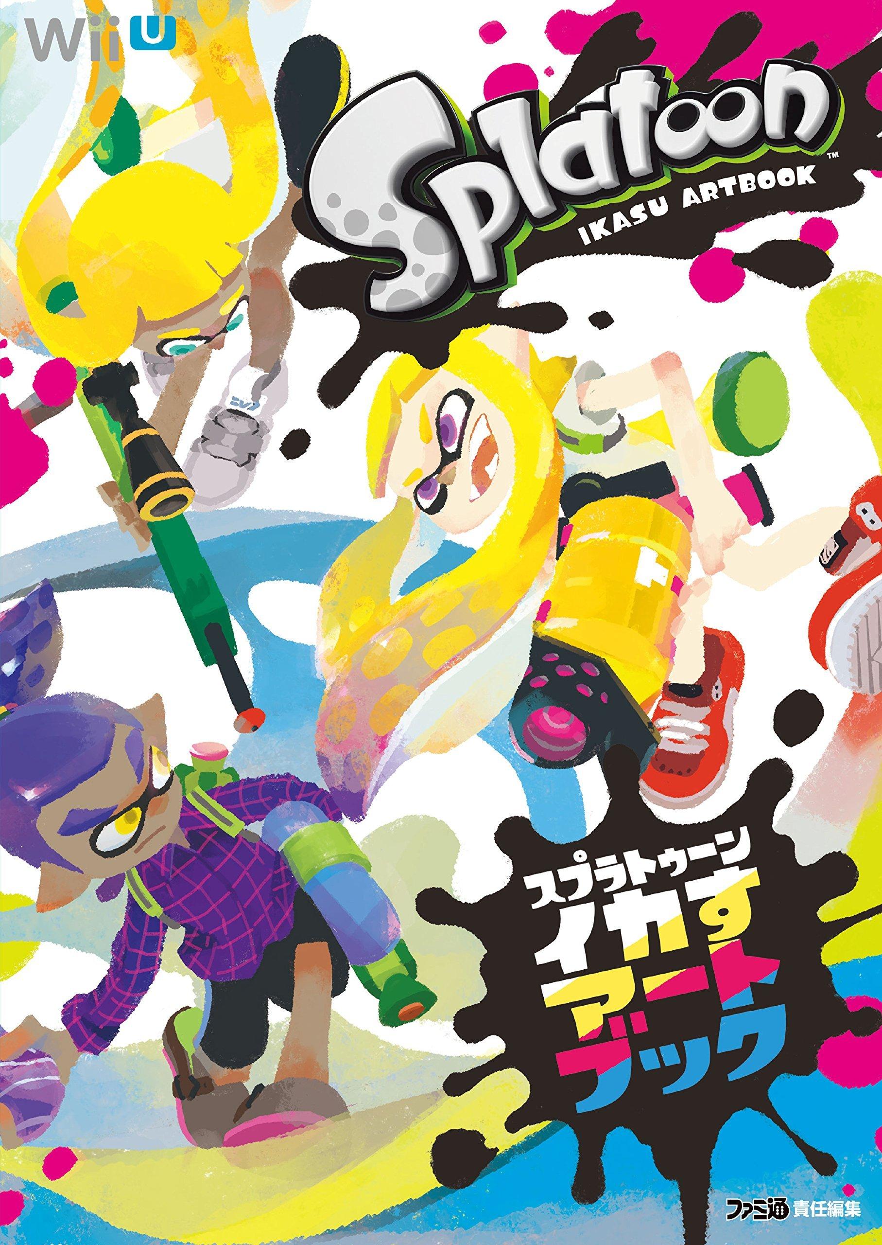 Splatoon Ikasu Art Book KADOKAWA Enter Frain Illustrations