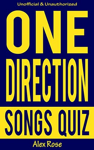 1D (One Direction) Songs Quiz SUPER PACK (Vol. 1-4): Songs from One Direction albums - UP ALL NIGHT, TAKE ME HOME, MIDNIGHT MEMORIES and FOUR Included!