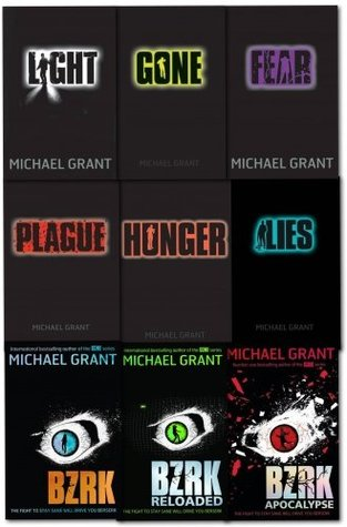 Gone and BZRK Series Michael Grant Collection 9 Books Set