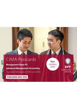 CIMA P2 Advanced Management Accounting: Passcards