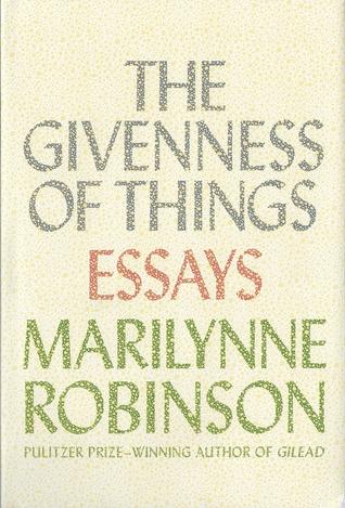 Marilynne robinson gilead goodreads giveaways