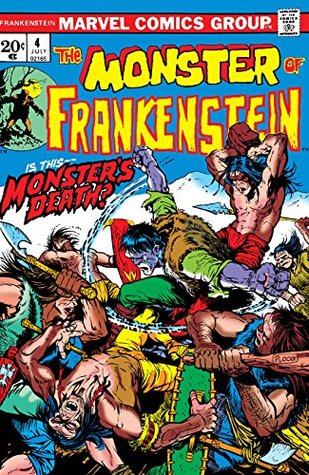 The Monster of Frankenstein #4