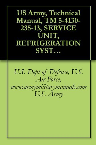 US Army, Technical Manual, TM 5-4130-235-13, SERVICE UNIT, REFRIGERATION SYSTEM, (MUST), (AMERTECH CORP., MODE 1200-F-0001), (NSN 4130-00-039-8124), military manuals