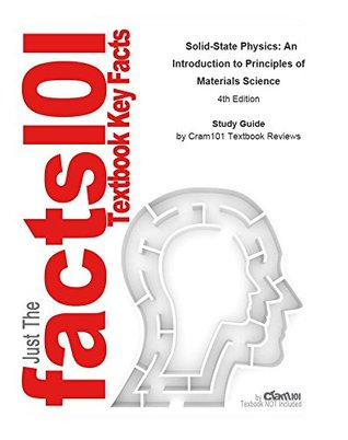 e-Study Guide for: Solid-State Physics: An Introduction to Principles of Materials Science: Chemistry, Materials science