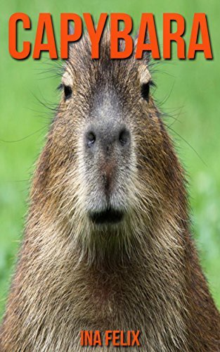 Capybara: Children Book of Fun Facts & Amazing Photos on Animals in Nature - A Wonderful Capybara Book for Kids aged 3-7