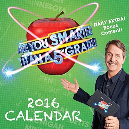 Are You Smarter Than a 5th Grader Day-To-Day Calendar