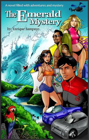 The Emerald Mystery- Bodyboarding book, action adventure thriller. Contains graphic art.