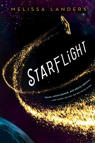 Starflight by Melissa Landers Book Cover