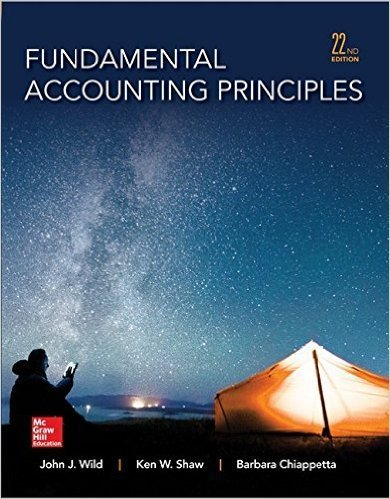 Fundamental Accounting Principles [with Connect Plus Access Card]