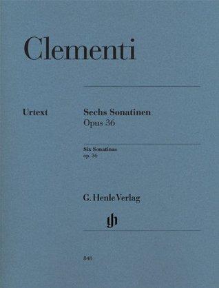 Six Sonatinas op.36 - piano - (HN 848)