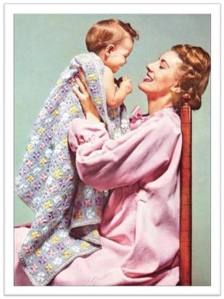 #2048 HAPPY BABY VINTAGE CROCHET PATTERN