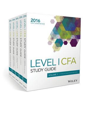 Wiley 2016 Level 1 CFA Study Guide Volume 4