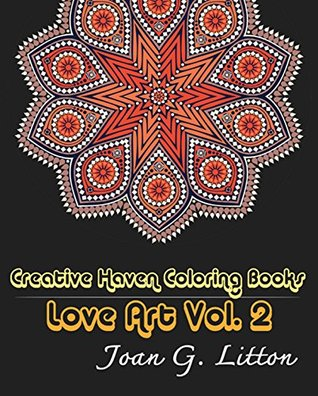 Adult Coloring BookMandalas Creative Haven Books Love Art