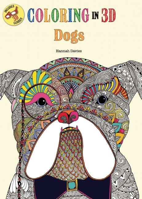 Coloring in 3D Dogs