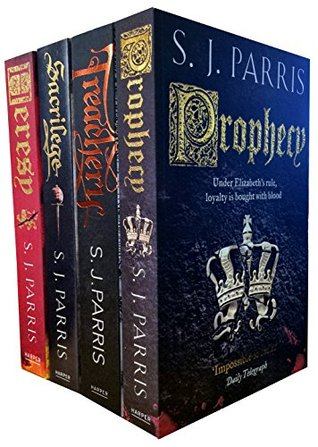 Giordano Bruno Series Collection S. J. Parris 5 Books Set Pack
