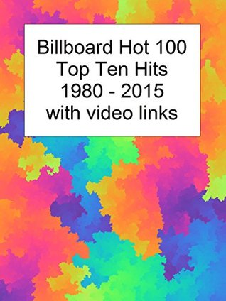 Billboard Top 10 Hits 1980-2015 with Video Links by Bold Rain