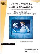Do You Want to Build a Snowman? (from Frozen) - Hal Leonard Student Piano Libary Showcase Solos Pops - Late Elementary - Sheet Music