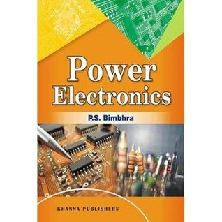 Power Electronics Book By Bimbra Pdf