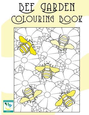 Bee Garden Colouring Book