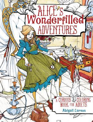 Alices Adventures Coloring Book Pages For Adults Up A