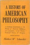 A History Of American Philosophy