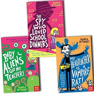 Pamela Butchart The Spy Who Loved School Dinners Collection - 3 Books,