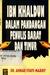 Ibn Khaldun dalam Pandangan Penulis Barat dan Timur