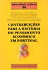 Contribuições para a história do pensamento económico em Portugal