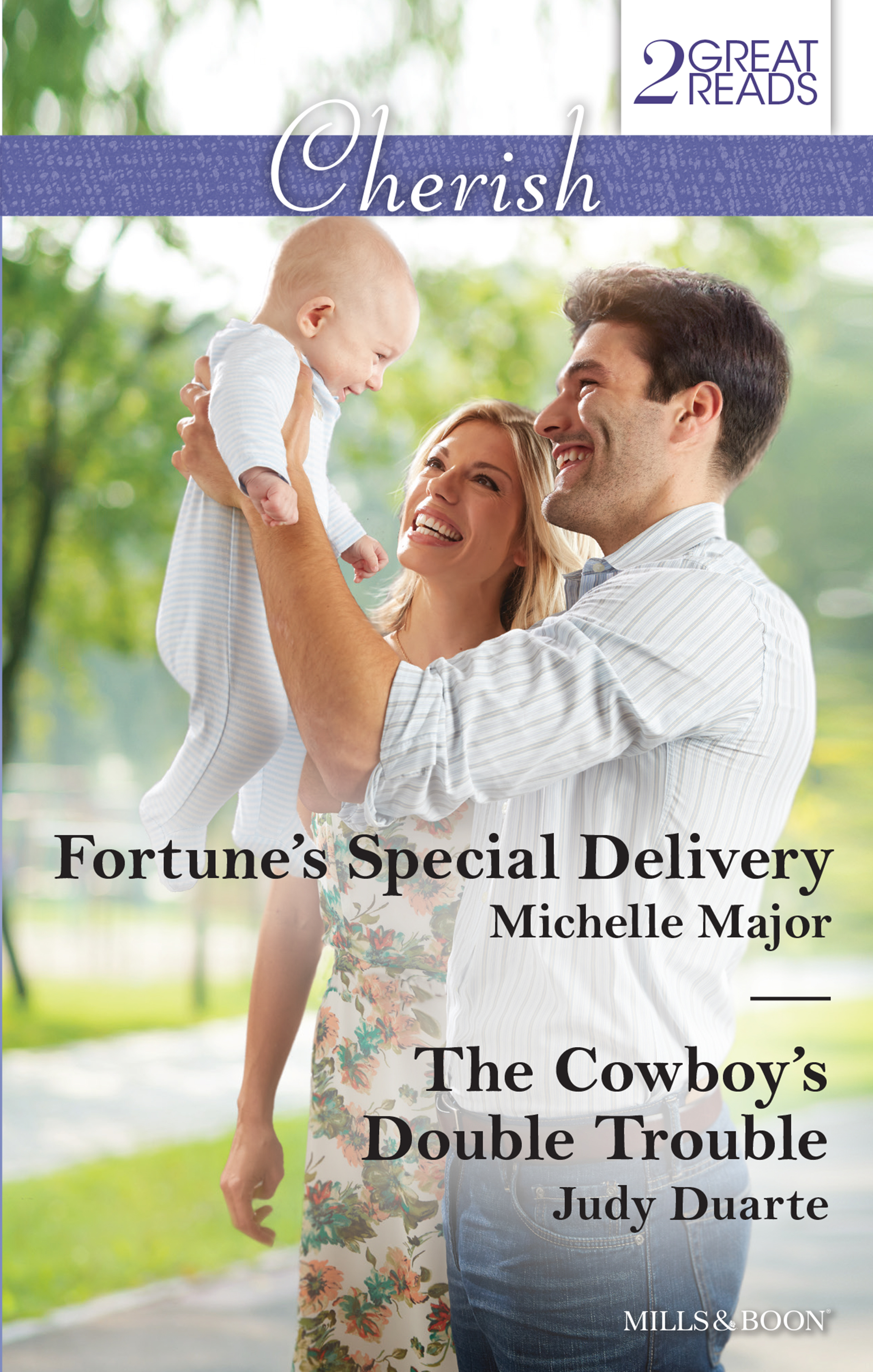 Fortune's Special Delivery / The Cowboy's Double Trouble