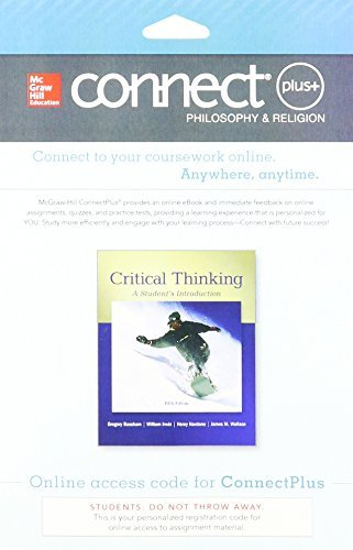 Connect Access Card for Critical Thinking