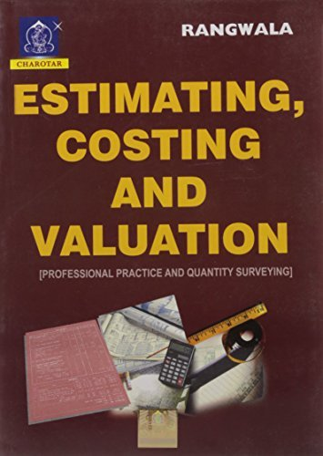 Estimating, Costing And Valuation