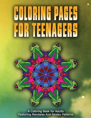 Coloring Pages for Teenagers - Vol.3: Coloring Pages for Girls