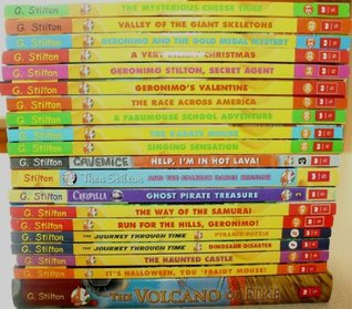 Geronimo Stilton Collection Set of 20 Books