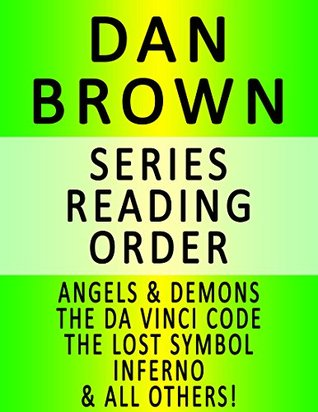 Dan Brown Series Reading Order Series List In Order Angels