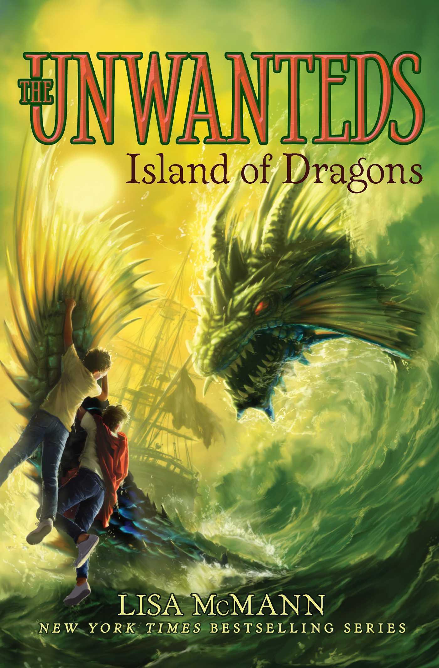 Island of Dragons (Unwanteds, #7)
