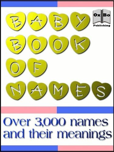 3,000 Baby Book of Names (Annotated)