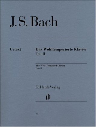 Well-Tempered Clavier BWV 870-893 Vol. 2 - piano - (HN 16)