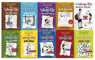 A Diary Of a Wimpy Kid 10 Books Collection [Paperback] by