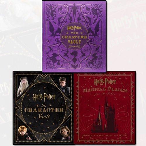 Jody Revenson Harry Potter Collection 3 Books Bundle