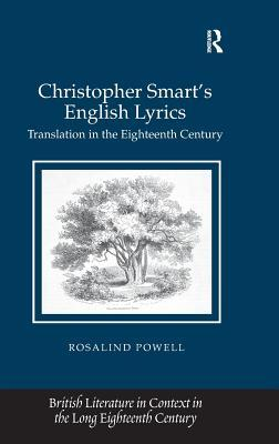Christopher Smart's English Lyrics: Translation in the Eighteenth Century