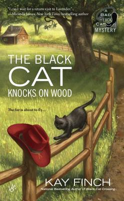 The Black Cat Knocks on Wood (A Bad Luck Cat Mystery #2)
