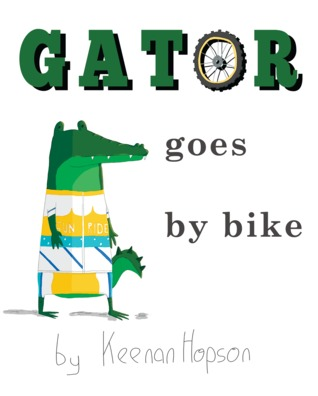 Gator Goes by Bike