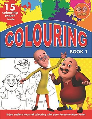 Motu Patlu Colouring Book 1 By Bpi India